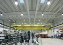 Промышленные потолки в цеху