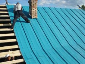 крыша цеха