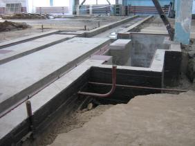 фундамент промышленного здания